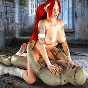 Babes fucked by zombies