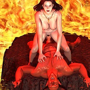 Babes fucked by demons