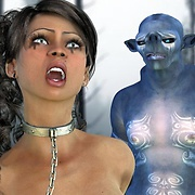Sex with aliens 3D anime babes fucked roughly