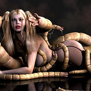 Hot tentacle and alien xxx pics